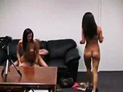 Couch, Teen, Casting, Ritt, Doggy-Style
