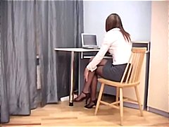 crotchless, amateur, boss, hardcore, reality, babe, secretary, office, pantyhose, nylons