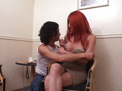 anal, redhead, nails, guy, shemale, young