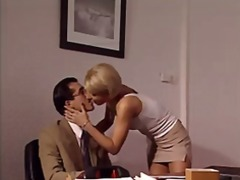 blowjob, secretary, on, blonde, dick, anal, milf, ass, drilled, gets, lia, italian, hardcore