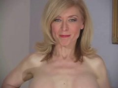nina hartley,  lencería, ligueros, panties, mqmf, divertidas