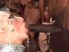 xxx, bald, group sex, girl, from, fucked, sex, gets, bizarre