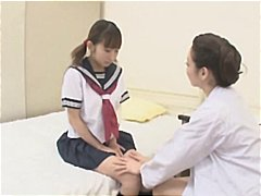 nurse, make, lesbian, gal, young, seduced, gets, japanese, asian