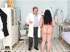 granny, mom, older, bbw, kinky, uniform, hospital, gyno, big, bizarre, milf, examination, mature, rectal exam