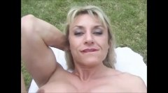 milfs, matures, muscled, mature, blowjobs, clit, big, outdoors
