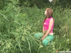 horny, wet, fucked, cute, teen, fucked hard, outdoor, teens, blowjob, skinny, ass, shaved, babe, hot, hardcore, teenager, small-tits, reality, pussy, riding, outdoors