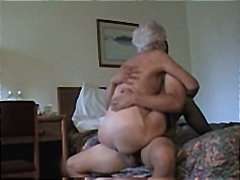 pounded, milf, white, haired, positions, mature, horny, gets, granny