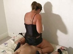 bondage, oral, gros seins, éjaculations, ex, pipes, excitation, hardcore, domination féminine, excitation, blondes