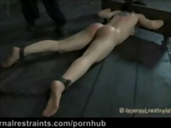 gag, tied, cheyenne, brunette, spanking, small-boobs, domination, wet, sex-toy, piercing, jewel, orgasm, cheyenne jewel