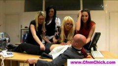 jerking, winking, femdom, jerkingoff, handjob, on, ladies, cfnm, bdsm, amateur, boss, reality, revenge, office, working