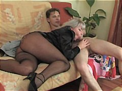 young, woman, russian, enjoying, older, matures, man, old + young, horny
