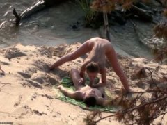 hidden, sex, on, homemade, blow-job, couple, outdoors, public, outdoor, fucking, beach, amateur