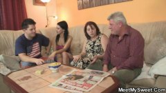 milf, old, cheating, teen, parents, threesome, mature, granny, seduced, grandpa, oldman