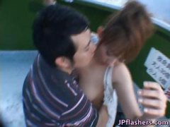 public, amateur, getting, interracial, flasher, lovely, part3, doll, hardcore, big tits, asian, japanese, outdoor