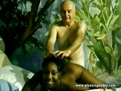 fuck, vintage, old + young, young, cummings, ho, interracial, ebony