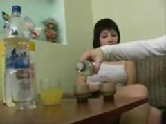 brunette, blowjob, drunk, action, anya, into, fucking