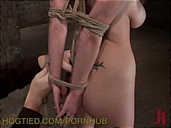 Sara Jay, Isis Love, spanking, hogtied.com, bondage, fingering, blowjob, big-boobs, pornstar