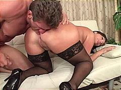 vannah sterling,  stockings, big ass, cum shot, caucasian, couple, rimming, big cock, vannah sterling