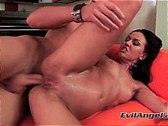 toys, couple, high heels, caucasian, cum shot, anal sex, masturbation,