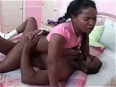 Lori Alexia, masturbation, lori alexia, reality, black, pig-tails, teen, ebony, big-dick, ass