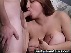 big-boobs, milf, close-up, mmf, busty-amateurs.com, chubby, group-sex, blowjob, brunette