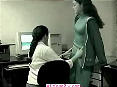 homemade, softcore, latino, girl, sex, amateur, office, couple, getting, caught, on, nude, lesbian
