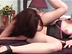 sleep, lesbian, granny, mature, pussylicking, old