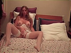 cumshot, jerking, tight, boobs, teasing, mommy, facial, masturbation, stockings, shot, brunette, lingerie, girlfriend