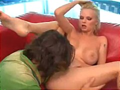 Tatoo, Blond, Ry, Hand Job, Titjob