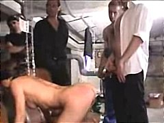 French wife tortured and gangbanged