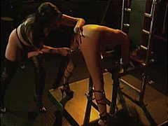 latex, spanked, handcuffed, slave, chained, fetish, lezdom, stockings, gagging, corset, bdsm, asian,
