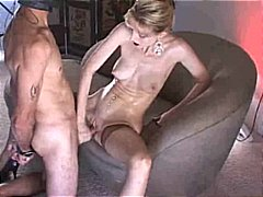 jizz, stockings, blonde, oral, fucking, skinny, cumshot, blowjob, lick, cum, sex,