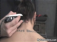 bdsm, tattoo, hardcore, tattooing, tied