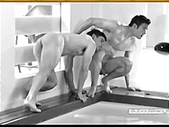 Naked rugby studs