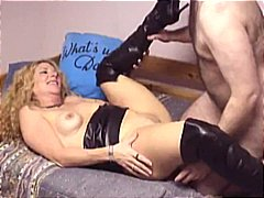 hot pussy, boots, leather, cougar