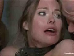 Chick dp fucked in gangbang
