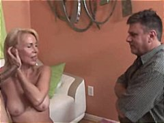 milf, hard, inter-ras, blond, ouer