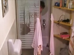 Spying my 55 old mom taking shower