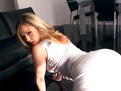 Alexis Texas, softcore, babe, grote kont, close-up, pornoster, blond, dansen, plagen