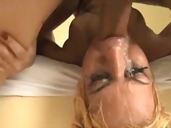 deepthroat, fake tits, aggressive, hardcore, facefuck, bondage, messy, doggystyle, gagging, big tits, blonde, anal