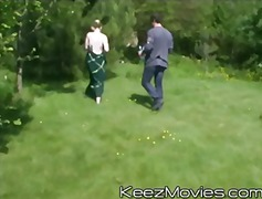 hardcore, blonde, teenager, keezmovies, group, gangbang, outdoors, teen, blowjob, public