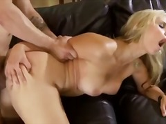 sarah vandella,  fake tits, doggystyle, blonde, babe, blowjob, high heels, glamorous, riding, big tits, sarah vandella,