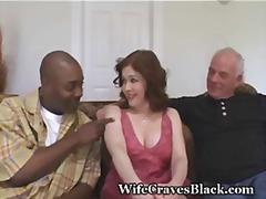 busty, interracial, share, redhead, hairy, swinger