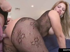 booty, hardcore, latin, fishnet, blowjob
