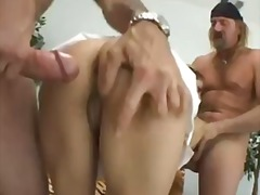 Anal, Dobbelt Penetration, Latinoer, Teenager, Mexicanere