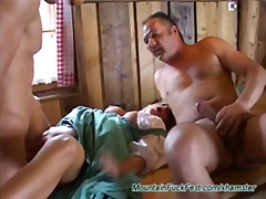 threesomes, anal, german