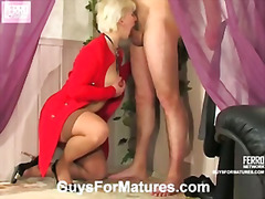 Penny&adam red hot mature action