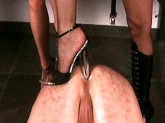 mistress, female domination, strapon fuck, high heels, cock torture, ball busting