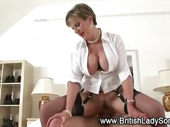 stockings, mature, hardcore, nylon, high heels, fetish, european, british, cumshot