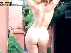 Exotic chick stripping and dancing